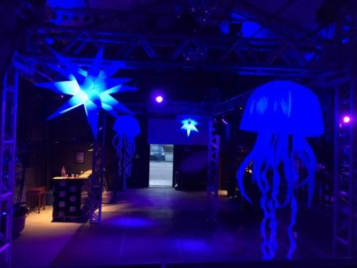 "Festa de 5 anos da Printi ""Glow Party'  Thaa Produções"
